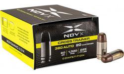 Novx Ammo 380 ACP SP 60 GR Cross Train Comp - 20rd Box
