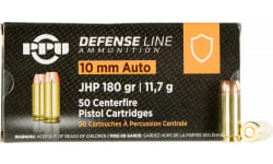 PPU PPD10 10MM 180 Jacketed Hollow Point - 500rd Case