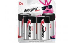 Energizer E95BP-4 MAX D-4