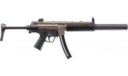 HK 81000628 RIFLE, MP5, FDE, .22LR, w/1-10rd MAG