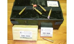 Swiss 7.5x55 174 GR FMJ Ammo - 480rd Case