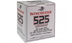 Winchester Ammo Case - 22LR525HP 555 22 Long Rifle 36 GR Copper-Plated Hollow Point - 5250rd Case