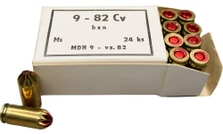 Sellier and Bellot 9x18 8 Star Crimped Blank Ammunition, Czech Made Military Production Blank Ammunition - 240rd Box
