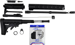 "AR15 5.56 NATO 16"" Mid-Length Rifle Kit, Complete Less Lower Reciever"