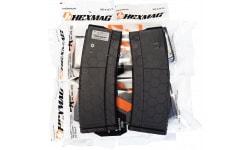 Hexmag AR-15 5.56/.223/.300 Black 30 Round Magazine - 10 Mag Pack - HX30-AR15S2-BLK