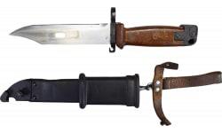 Polish AK -47 Bayonet - Original Military Issue Polish Made Bayonet for AK-47 and PSL / Dragunov Style Rifles