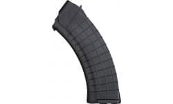 Gen III Polish 30rd AK47 Waffle Pattern Magazine, 7.62x39, Black Lexan By Pioneer Arms Radom Poland
