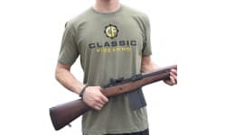 Classic Firearms T-Shirt - Military Green