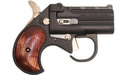 Bearman - Big Bore .38 Special Derringer Guardian Black Cerakote with Rosewood Grips - BBG38BR