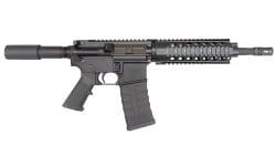 """Bear Creek Arsenal 300 Blackout AR-15 Pistol, 10.5"""" w/ Quad Rail, M4, 1 in 8 twist, W / 30 Rd Mag - BCA Hog"""