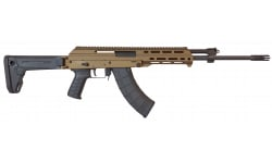 "M+M Industries - M10X Zhukov - Semi-Auto Rifle - 16.5"" Barrel - 7.62x39mm - 30 Round Magazine - Burnt Bronze - M10X-Z SH BB"