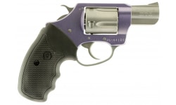 """Charter Arms Lavender Lady 32 H&R Revolver, 2"""" Lavender Stainless Steel - 53240"""
