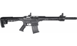 "Citadel Boss 25 Shotgun 12 Ga 18.7"" Barrel W / Shroud, 5-Rd. Detachable Mag, 3"" Chamber, Semi-Auto, Multi Attachment Rail, Black - Legacy Sports Int."