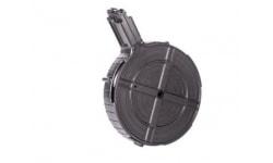 GSG Manufacturing Ruger 10/22 .22 LR Drum Magazine, 110 Rounds, Polymer, Black