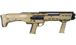 Standard Manufacturing DP12FDE DP-12 - 16 Shot Double Barrel Pump Action 12GA Shotgun - Flat Dark Earth Finish