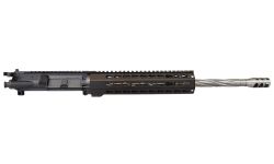 """AR-15 Drop In Ready Complete Upper w/ Spiral Fluted Stainless Steel 16"""" Heavy .223 / 5.56 Barrel, 10"""" Free Float Keymod and SS-TPI Break - by Riley Defense"""