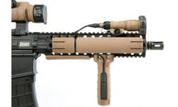 TangoDown Vertical Fore Grip - For Picatinny Rails - Surefire Pressure Pad Compatible - FDE Finish - BGVMK46FDE