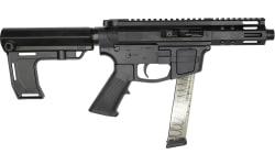 "Foxtrot Mike FM-9 Semi-Automatic AR-15 Pistol 9mm 5"" Threaded Barrel, Glock Mag Compatible -  W / Free MFT Pistol Brace."