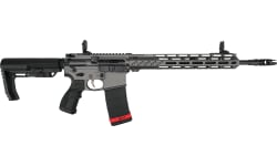 """Fostech Phantom LT Semi-Automatic AR-15 Rifle 16"""" Barrel 300 Blackout 30 Round Mag - Echo II Trigger Tungsten - 6307TUN-300"""