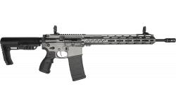"Fostech Phantom Deluxe Edition Semi-Automatic AR-15 Rifle 16"" Barrel .223/5.56 30rd - W/ ECHO-II Trigger - Tungsten Cerakote Finish - 6307-TUN-5.56-6226-4150"