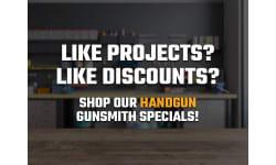 Gunsmith Special Handguns Various Manufacturers and Models
