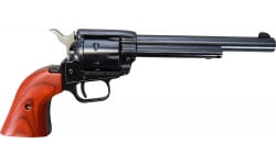 """Heritage Arms Rough Rider Revolver - .22 LR Caliber, 6.5"""" Blued With Wood Grips RR22B6"""