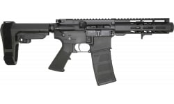 """Andro Corp Industries ACI-15 Semi-Automatic Pistol 6"""" Barrel 300 Blackout 30 Round - W/ Micro Flash Can & SB Tactical SBA3 Brace - 3006MFC"""