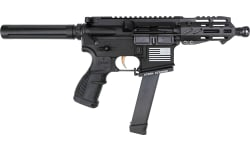 "Fostech Tech-15 Semi-Automatic AR-15 9mm Pistol 4.5"" Barrel Echo ARII Trigger- 8156-BLK-9MM-6230-4150"