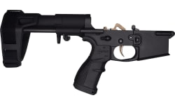 Fostech LITE Complete AR-15 Pistol Lower W / PDW Brace and Echo ARII Trigger Installed