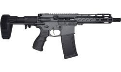 FosTecH Fighter LITE Tomcat Pistol with Echo AR-II Trigger in Sniper Grey - 5.56 NATO, 30 Rd Mag, PDW Brace - Factory Blem
