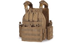 Guard Dog Body Armor Sheppard Plate Carrier - Flat Dark Earth- W/ Quick Disconnects - SHEPPARD-FDE