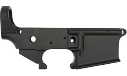 """Anderson AR-15 Stripped """"No Logo"""" Lower Receiver Open Anodized Black - No Manufacturer Logo Markings - D2-K067-AG00"""