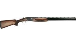 "ATA Arms Game Black 12GA 3"" Over/Under Shotgun 30"" Barrel High Gloss Finish Turkish Walnut Stock - 04546-G1230-BLK"