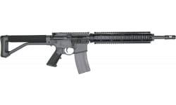 "DoubleStar Semi-Automatic AR-15 Rifle 16"" Barrel .223/5.56NATO 30rd - Includes ARFX Stock - Sniper Grey Finish - BRS103"
