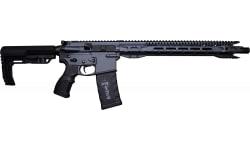 "Fostech Eagle Premium Light Weight 5.56 AR15 Rifle with Echo Sport Trigger Installed & 16.5"" Slim Profile BBl, 16"" Mach 1 Rails In Sniper Grey - Minor Finish Blem"