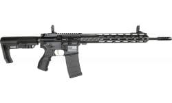 """Fostech Stryker Tech-15 Semi-Automatic AR-15 Rifle 16"""" Barrel .223/5.56 30rd - Echo AR-II Trigger Installed - Black - 8151BLK"""