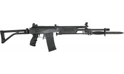 "JRA Gallant Rifle, Gen II, 5.56 NATO, Semi-Auto, 18"" Barrel W/ Compensator and Bipod, Bayonet Lug, Black Poly Handguard, 30 Rd Mag - W / Shooters Pkg"