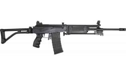 "JRA Gallant Rifle, Gen II, 5.56 NATO, Semi-Auto, 18"" Barrel W/ Compensator and Bipod, No Bayonet Lug, Black Polymer Handguard, Case, 30 Round Mag"