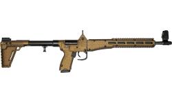 Kel-Tec SUB-2000 Collapsible Rifle Burnt Bronze 9mm 17rd Glock 17 Model - KELTSUB2K9GLK17BBRZ