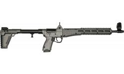 Kel-Tec SUB-2000 Collapsible Rifle Black & Tungsten 9mm 17rd Glock 17 Model - KELTSUB2K9GLK17BTNG