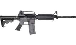 "RGuns KTA-15 Semi-Automatic AR-15 Rifle 16"" .223/5.56NATO 30rd, With Detachable A2 Rear Sight Carry Handle - Black"