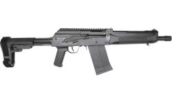 "Saltwater Arms Left-Hand SPETS-12 Semi-Automatic Firearm 13"" Barrel 12GA 5rd - Black - Includes SBA3 Brace - Left Side Charging Handle - SPETS12L"
