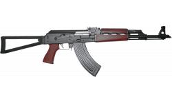 "Zastava ZPAPM70 Semi-Automatic AK-47 Rifle 16.3"" Barrel 7.62x39 30rd - W/ Bulged Trunnion,1.5MM Receiver, Chrome Lined Barrel, Folding Triangle Stock - ZR7762RTF"