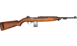M1 Carbine Rifle, .30 Caliber, Semi-Auto, Original U.S. Military Issued - Refurbished To V.G.- Excellent Condition - I.B.M. Mfg.  - C & R Eligible