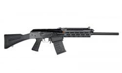 JTS M12AK-T1 AK-Style Shotgun w/ Optic Rail Remchoke Compatible (2) 5rd Magazines - Black