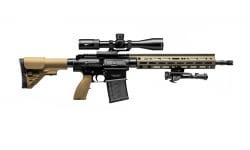 "H&K MR762A1 Long Rifle Package 16.5"" Barrel 7.62X51 20rd - Includes Vortex Viper PSTII 3-15X44 FFP MRAD Scope, Bipod, BFG Sling, and Case - 81000498"