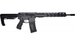 "Fostech Phantom Premium Light Weight 5.56 AR15 Rifle with AR II Echo Trigger Installed - 13"" Mach II Rails - Sniper Grey Finish"