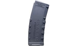 Classic Firearms AR-15 30 Round Enhanced Magazine - .223/5.56/.300BLK, Black With Yellow/Gold Accents - Mfg # CLF556MOD2BLK