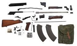 Polish AK-47 Parts Kit w/ New U.S. Made 7.62x39 Barrel - No FFL Required