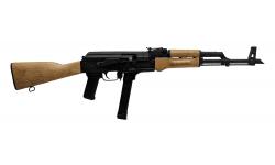 "Century Arms WASR-M AK-47 Style Semi-Auto rifle 9mm 33rd 17.5"" Barrel - Glock Mag Compatible - RI3765N"